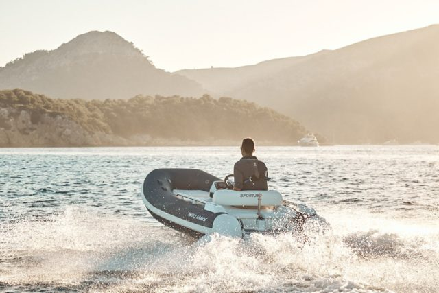 Heading ashore at sunset, our favourite time of day. What's your favourite time to enjoy your Williams Jet Tender? #WilliamsJetTenders  . . . . . #yachtlife #yachting #yachtclub #yachts #yachtmaster #yachtdesign #yachtlifestyle #yachtworld #yachtinglife #yachtinglifestyle #yachtweek #yachtlover #yachtstyle #yachtingworld #yachtphotography #yachttender #yachttoys #superyacht #superyachts #superyachtlife #superyachtlifestyle #superyachtworld #superyachttimes #superyachtdesign #superyachtindustry #superyachttender #superyachtcontent #sealover