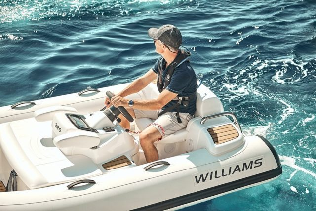 Pinpoint control at low speeds and the ability to spin on the spot and turn within its own length are just a few of the benefits of using a pump-jet as a means of propulsion. #WilliamsJetTenders  . . . #yacht #yachtlife #yachting #yachts #superyacht #yachtclub #yachtlifestyle #luxuryyacht #megayacht #yachtworld #yachtinglifestyle #yachtinglife #superyachts #yachtweek #yachtstyle #yachtingworld #luxuryyachts #instayacht #yachttender #superyachtlife #yachtieworld #theyachtweek #boatlife #boats #boating #boat #boatinglife